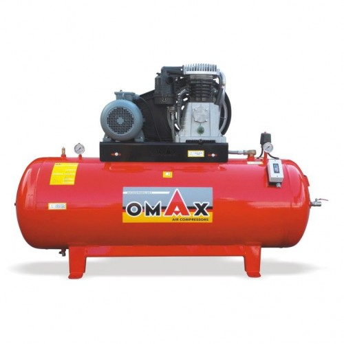 OMAX 300 Lt. Pistonlu Hava Kompresörü(İTALYAN KAFA)