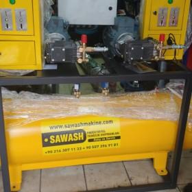 Self servis oto yıkama  makineleri Merkezi sistem