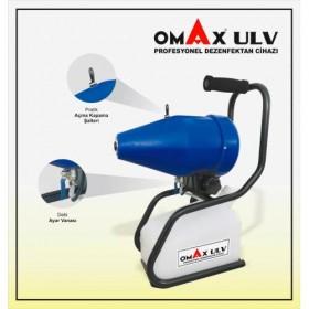 OMAX 5 L. El Tipi ve Portatif Elektrikli U.L.V İlaçlama Sisleme Makinesi Makinası Dezenfektan Cihazı