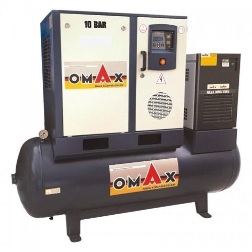 OMAX 5.5 KW 10 BAR 500LT VİDALI KOPRASÖRoto yıkama makinaları set fiyatları