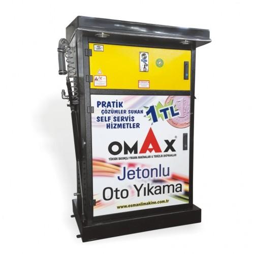 OMAX 200 Bar Jetonlu Basınçlı Yıkama Makinaları Fiyatı