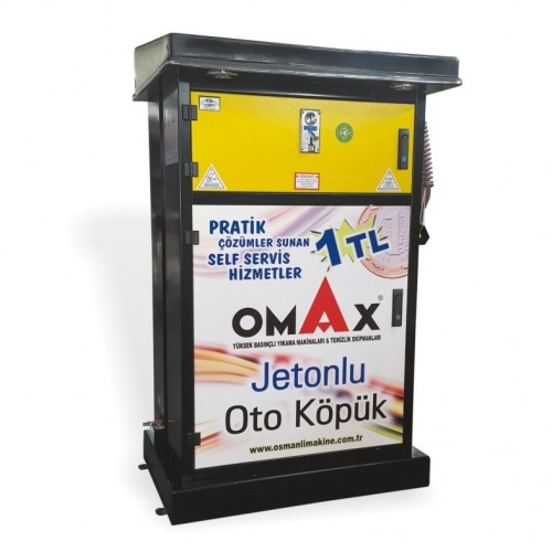 OMAX 5 Bar Jetonlu Köpük - Sıvı Püskürtme Makinaları