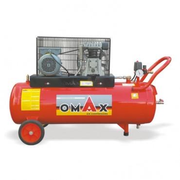 OMAX 100 Lt. Pistonlu Hava Kompresörü (İTALYAN KAFA)