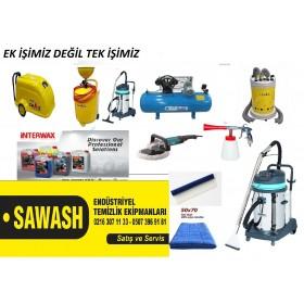 Oto yıkama makinaları seti  ve oto kuaför seti profosyonel
